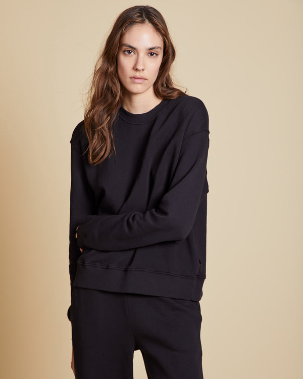 VELVET - Organic Fleece Pullover | Luxury Designer Fashion | tntfashion.ca