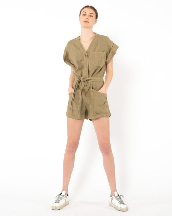 OVERLOVER - Dona Linen Jumpsuit | Luxury Designer Fashion | tntfashion.ca