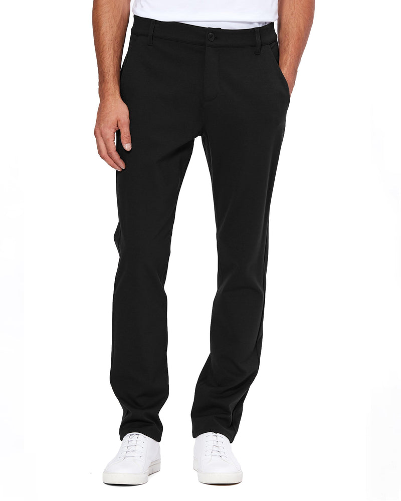 PAIGE Stafford Trouser in Black | newtntfashion.