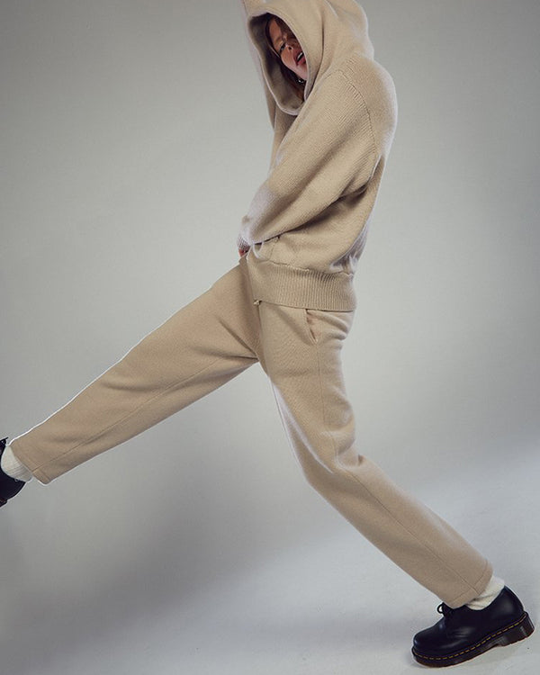 LES TIEN - Cashmere Pants | Luxury Designer Fashion | tntfashion.ca