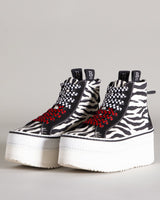 R13 High Top Skate Platform Sneaker | newtntfashion.