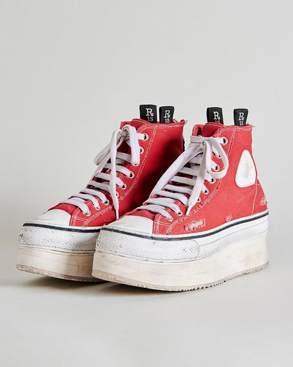 R13 Platform High Top Sneakers | newtntfashion.