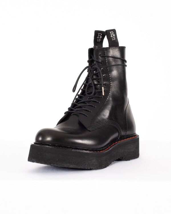R13 - Single Stack Boot | Luxury Designer Fashion | tntfashion.ca