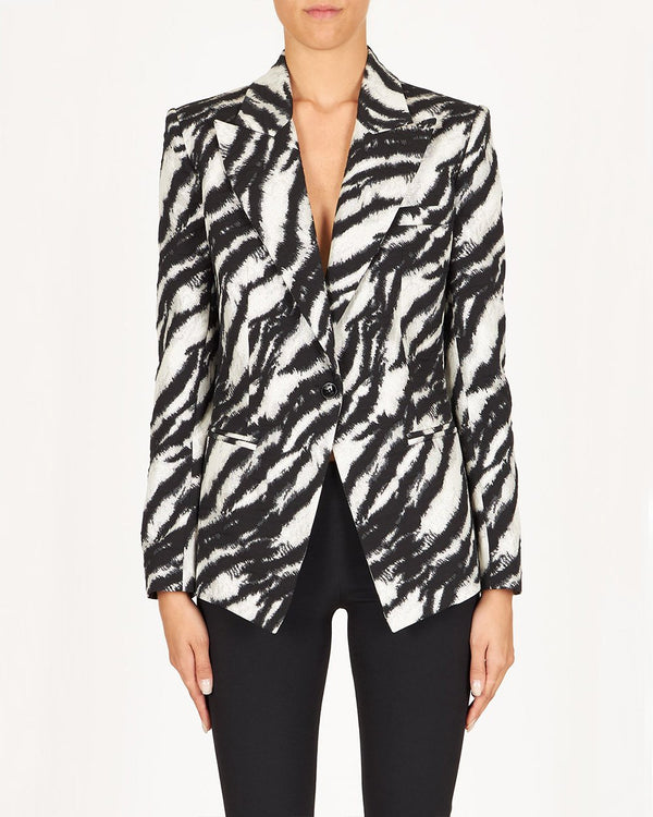 REDEMPTION Zebra Print Jacket | newtntfashion.
