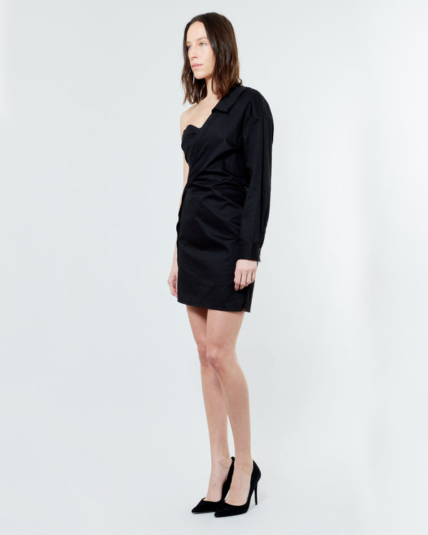 RTA - Lana Asymmetrical Shirt Dress | Luxury Designer Fashion | tntfashion.ca