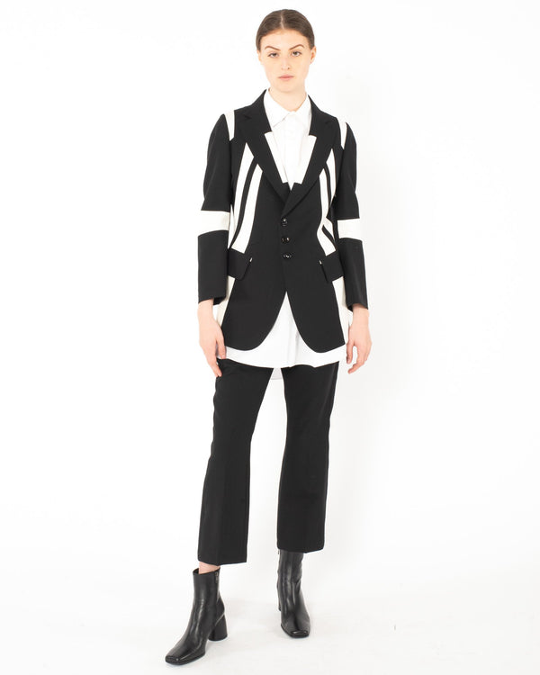 SHIRO SAKAI Formal Satin Jacket | newtntfashion.