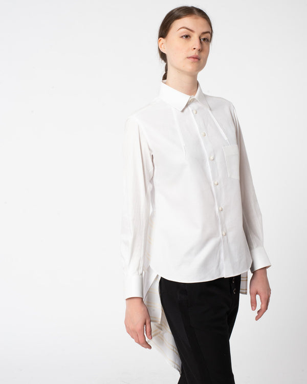 SHIRO SAKAI Long Sleeve Blouse | newtntfashion.