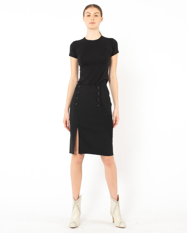 SHIRO SAKAI Midi Skirt | newtntfashion.