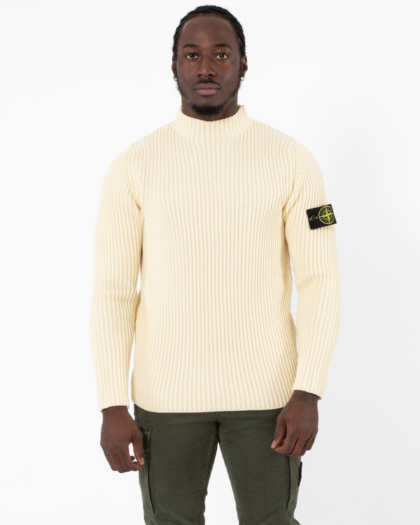 STONE ISLAND - Mock Neck Knit | Luxury Designer Fashion | tntfashion.ca