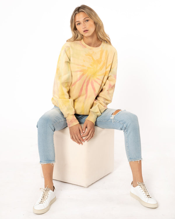 LOUNGE - Vintage Tie-Dye Sweatshirt | Luxury Designer Fashion | tntfashion.ca