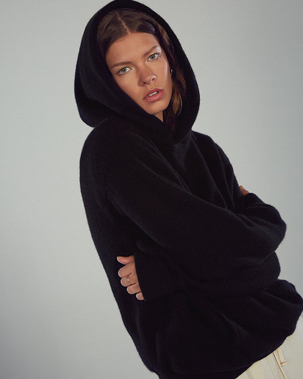 LES TIEN - Cashmere Hoodie | Luxury Designer Fashion | tntfashion.ca