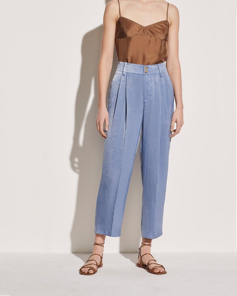 Satin Tapered Culotte