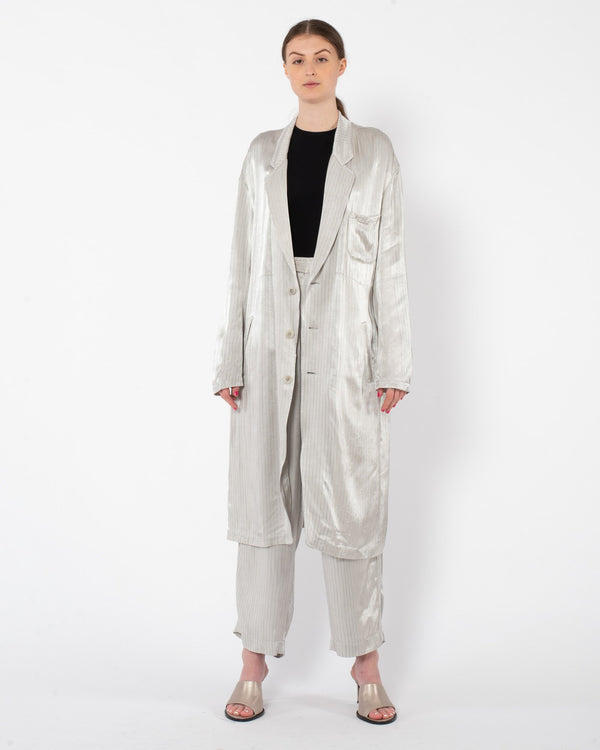 Y'S - U-Big Jacket | Luxury Designer Fashion | tntfashion.ca
