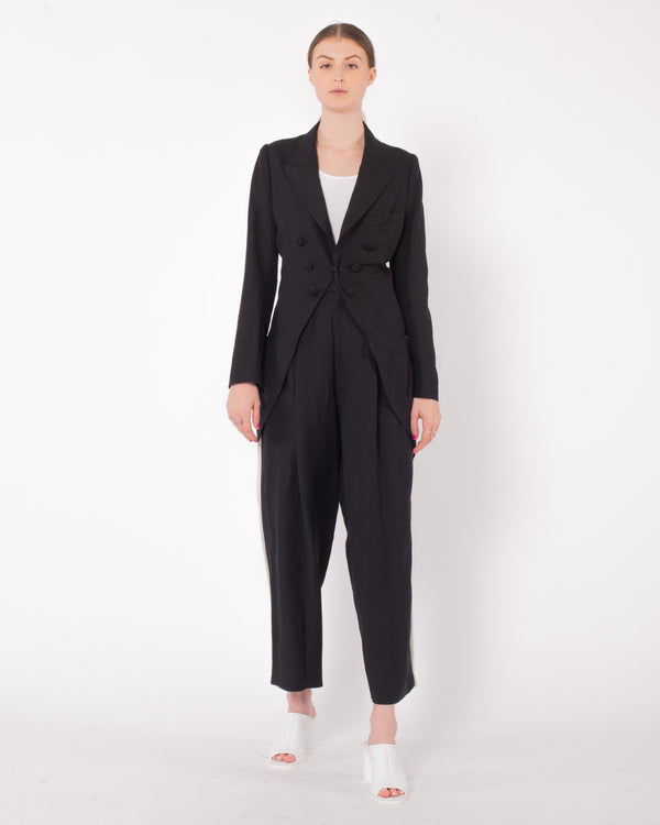 Y'S - U-Cut Out PJ Jacket | Luxury Designer Fashion | tntfashion.ca