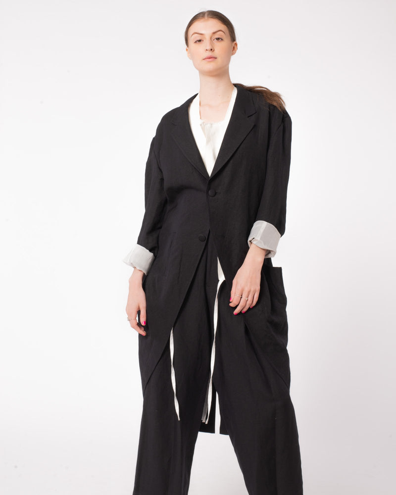 Y'S U-Detachable Collar Jacket | newtntfashion.