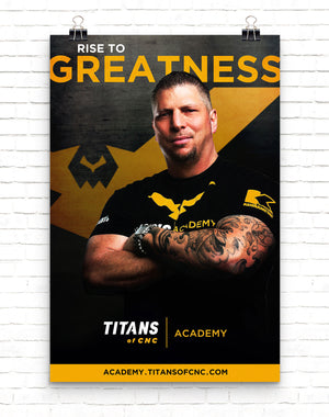 RISE TO GREATNESS Poster
