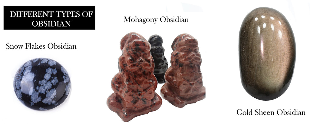 Different Types of Obsidian