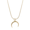 Horn Gold Necklace