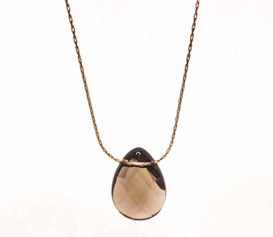 Mi Cielo London Necklace Smoky quartz necklace