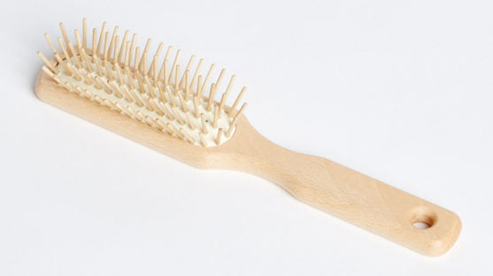 Eco Max Wooden Pins Hair Brush