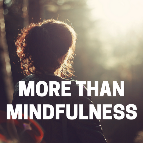 Starts Sun 6 May 4.30 - 5.30pm - More than Mindfulness (9 wk course) Term 2