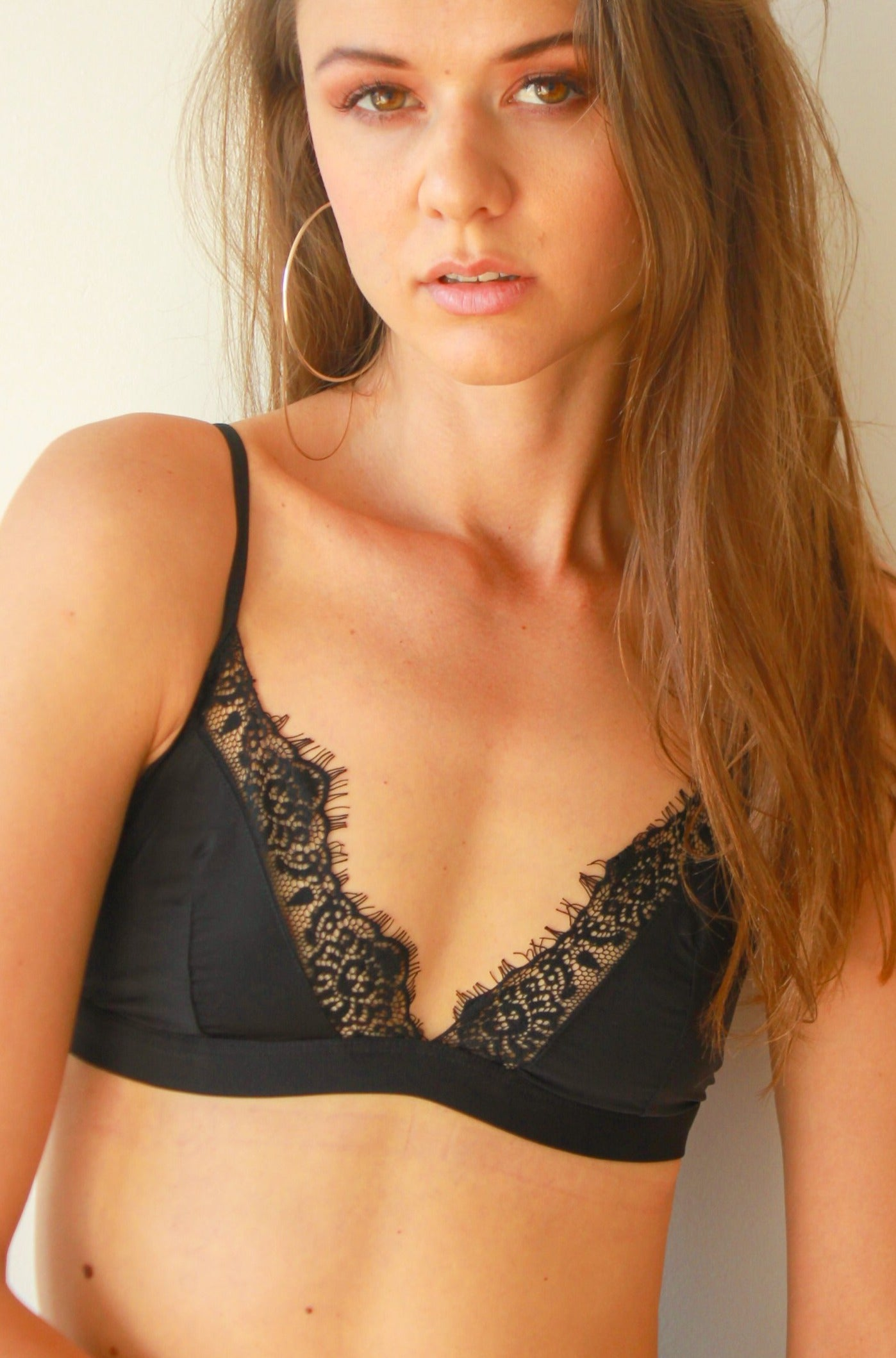 Hello Gorgeous Perfezione bra for small boobs silk wireless lace