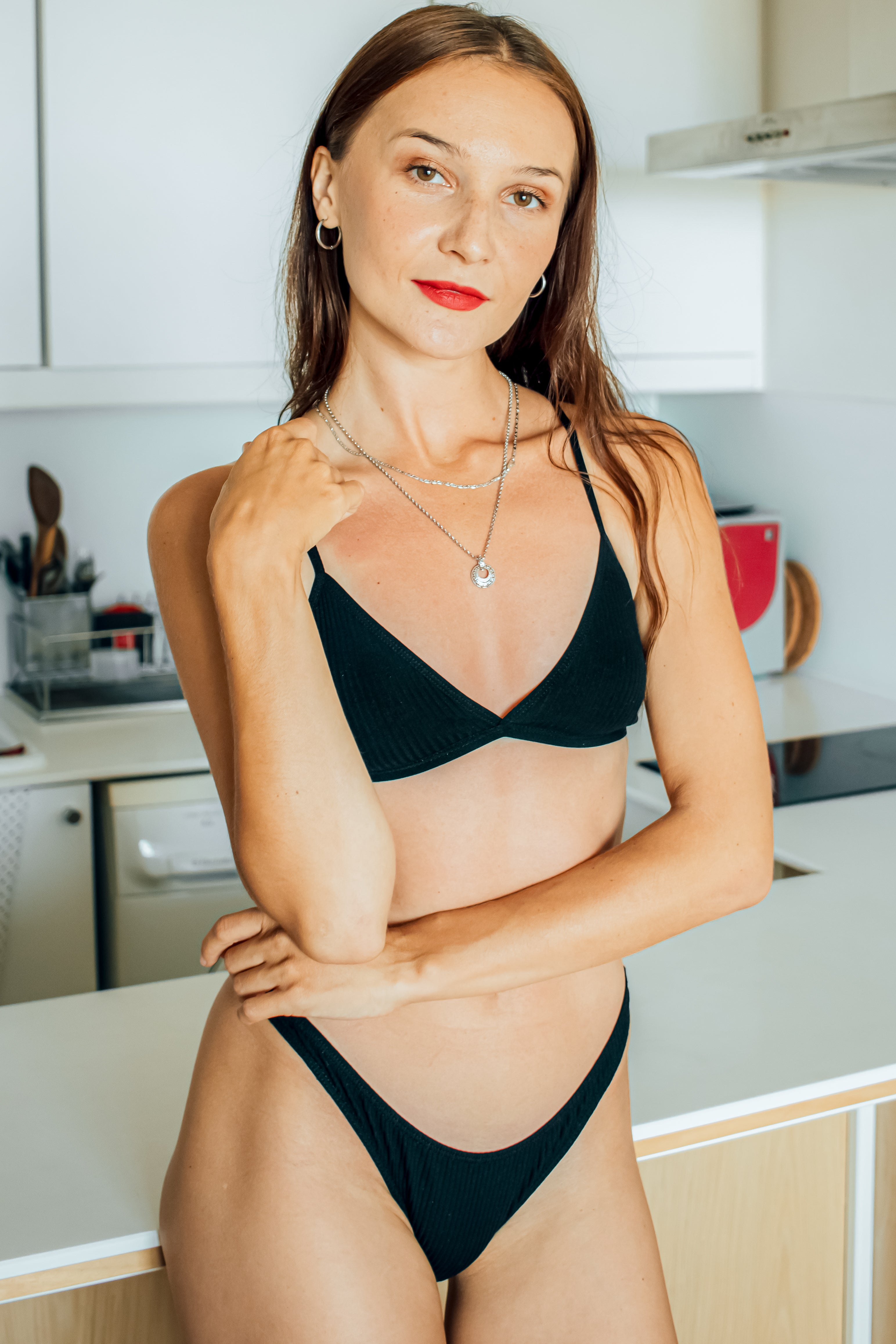 Perfezione Everyday bralette black wireless comfortable