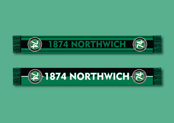 Fans' Favourite 1874 Northwich Football Scarf