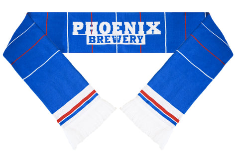 Brighton and Hove Albion Retro Football Scarf