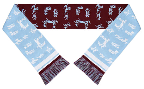 Burnley Retro Football Scarf