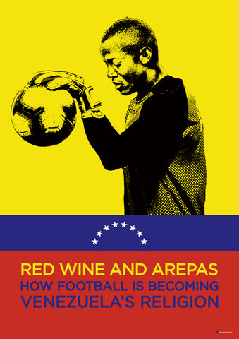 Red Wine & Arepas Farinez Design