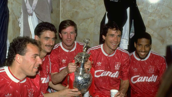 Liverpool 1989-91 Home Shirt Candy