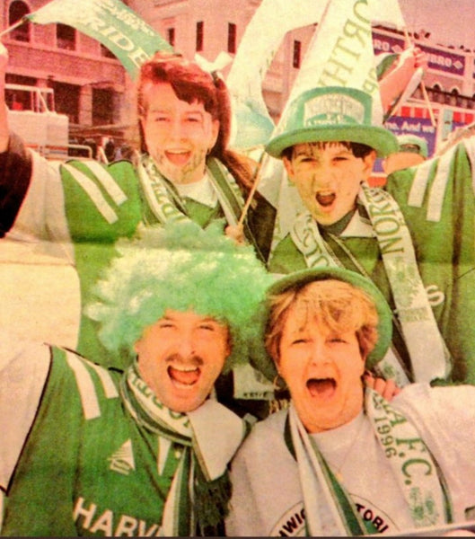 Northwich Victoria Fans Wembley FA Trophy 1996