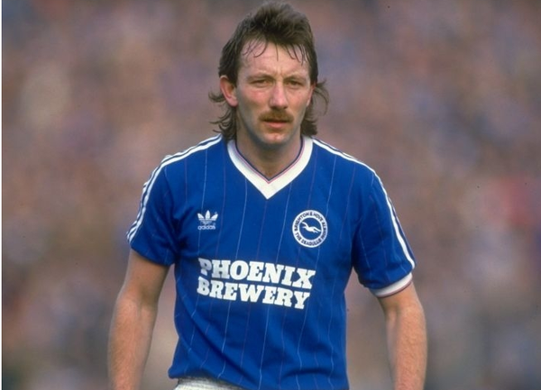 Brighton and Hove Albion 1983-85 Home Football Shirt, Phoenix Brewery