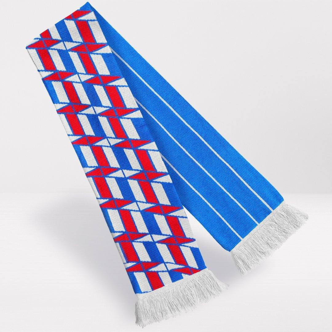 Ajax Retro Football Scarf - 1989-'90 Away