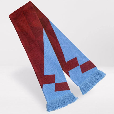 Aston Villa Retro Football Scarf - 1990-'92 Home