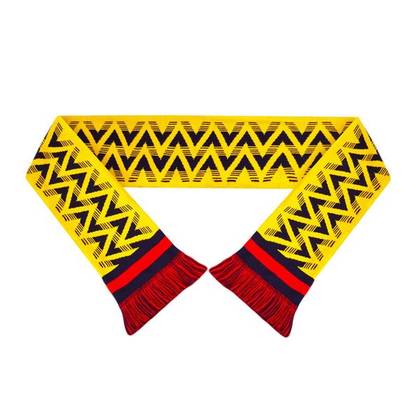 Retro Football Arsenal Scarf - Bruised Banana - Fans' Favourite