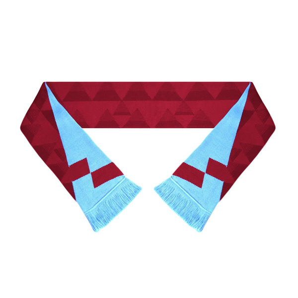 Aston Villa Scarf - 1990-'92 Home - Fans' Favourite Retro Football Scarf