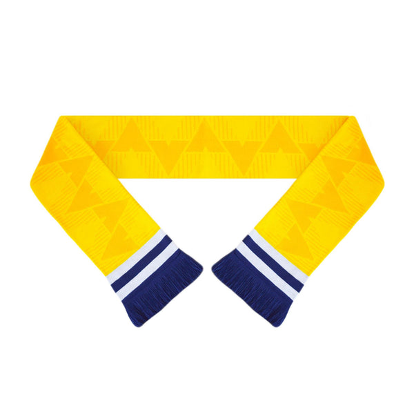 Leeds United Retro Football Scarf - 1989-'92 Away - Fans' Favourite