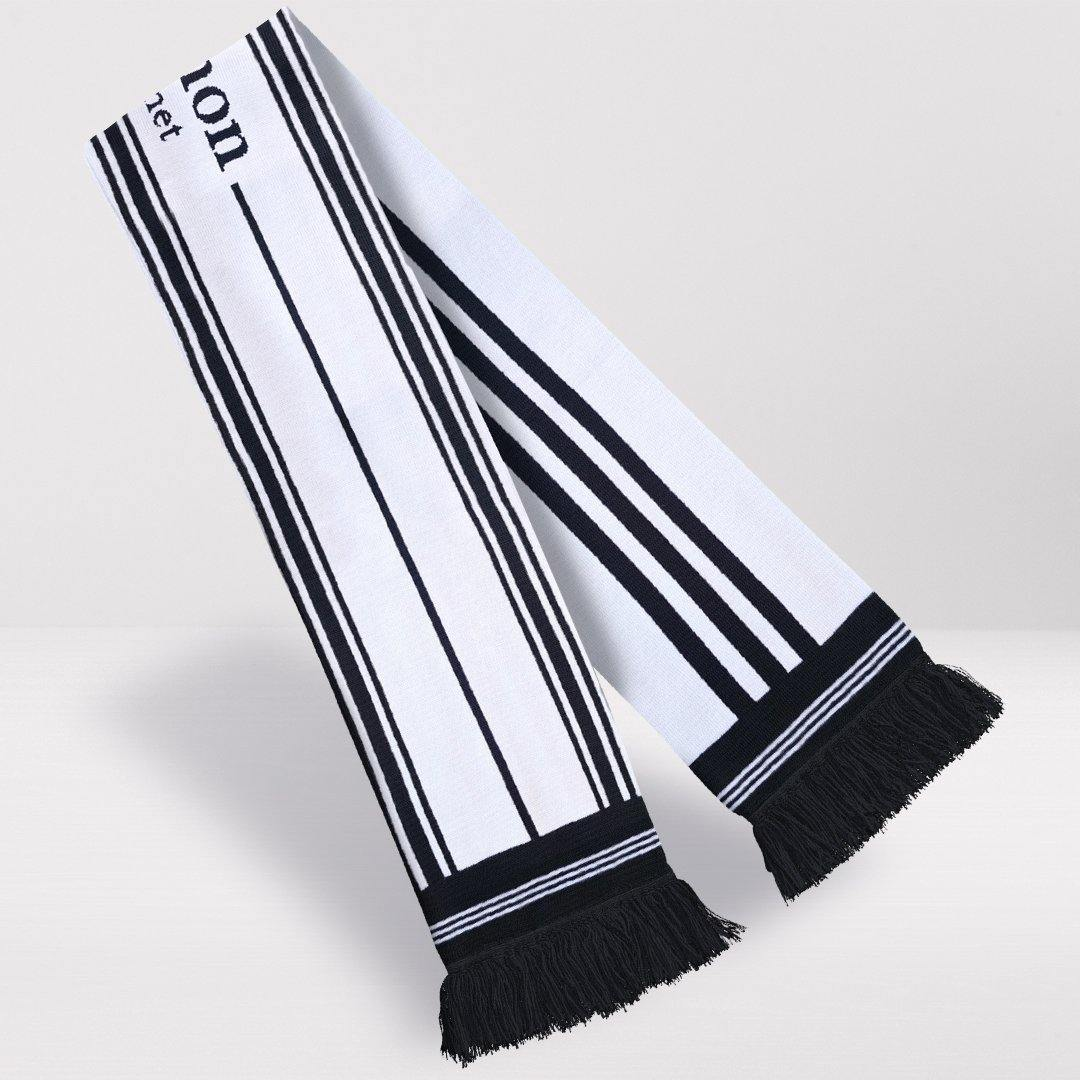Fulham Retro Football Scarf - 1999-'01 Home - Fans' Favourite