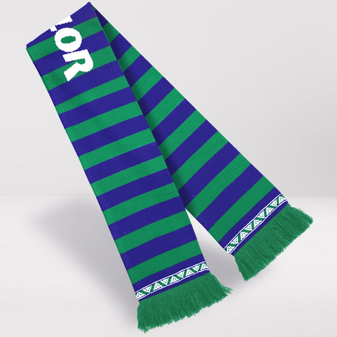 Hibernian FC Retro Football Scarf - 1994-96 Away