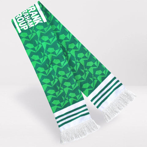 Hibernian FC Retro Football Scarf - 1989-'90 Home