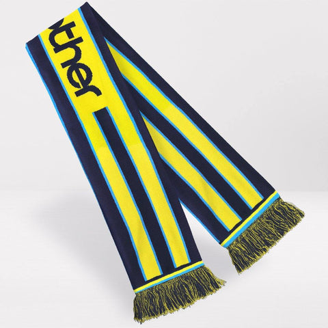 Manchester City Retro Football Scarf - 1998-'99 Away
