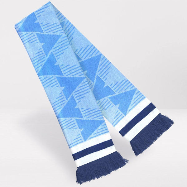 Manchester City Retro Football Scarf - 1989-'91 Home