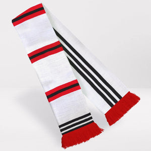 Manchester United Retro Football Scarf - 1975-'80 Away - Fans' Favourite