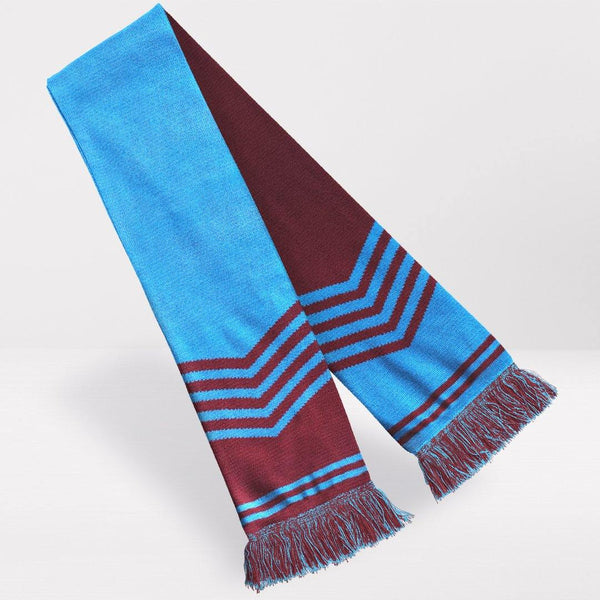West Ham United Retro Football Scarf - 1976-'80 Home