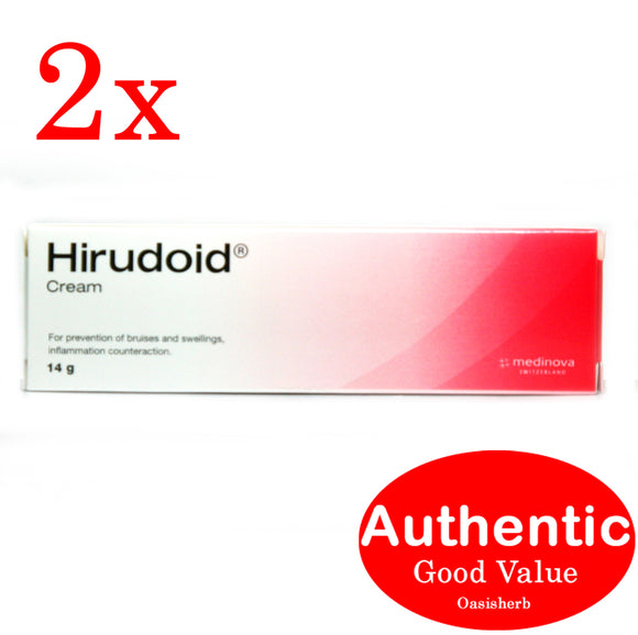 Hirudoid (14g small) cream - 2 packs