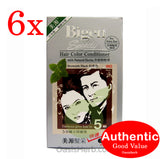 Bigen Speedy Hair Color Conditioner - Brownish Black 882 - 6 packs