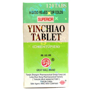 Great Wall Brand Superior YinChiao Tablet 120 tablets