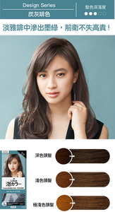 KAO Liese Soft Bubble Hair Color (Ash Brown) - New Package